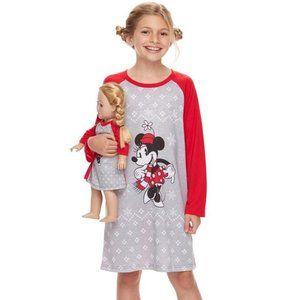 Disney Minnie Mouse Sleepshirt & Doll Nightgown